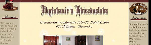 Penzión u Hviezdoslava